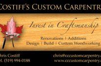 Costiff's Custom Carpentry